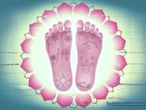 Reflexology Foot Diagram