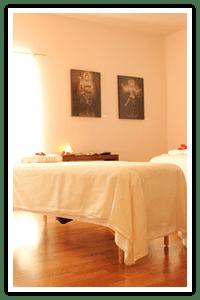 Couples Massage Room at Island Spirit